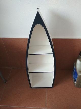 Estantería barca