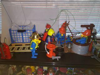 Diorama playmobil limpieza industrial
