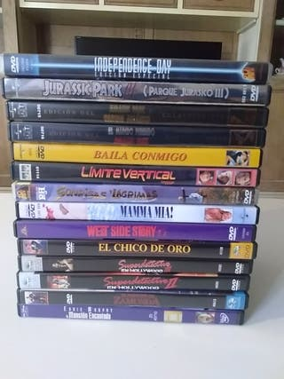 Pack de películas de mi perfil