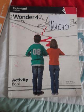 Wonder 4 activity book 4 primaria