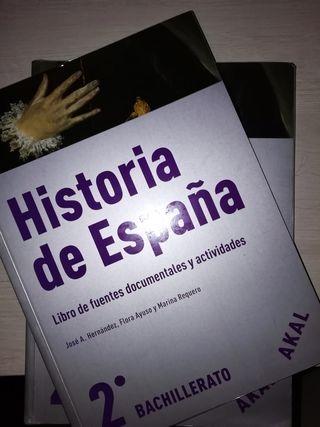 libro de historia.