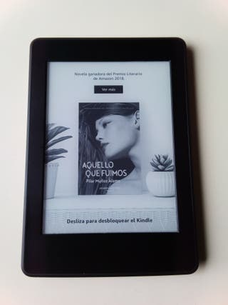 Kindle Paperwhite libro electrónico con luz ebook