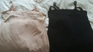 2 camisetas de lactancia