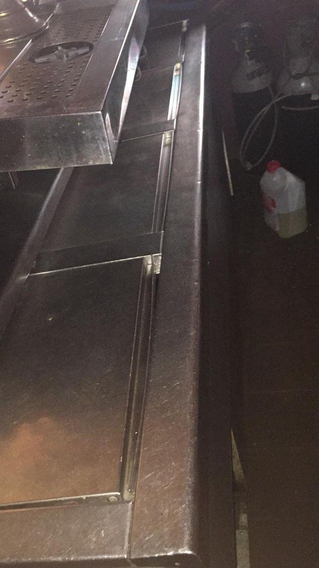 Camara/botellero enfría bebidas Inox cuatro puerta