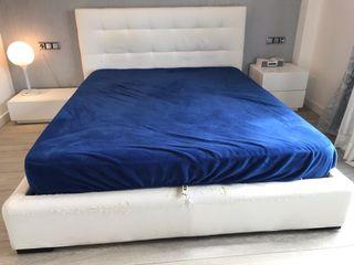 Canapé de 2 metros x 1,60 metros con cabecero