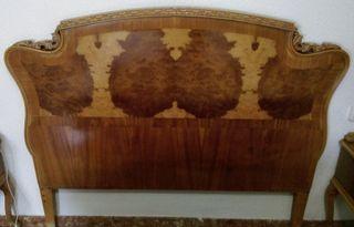 Cabecero de madera para cama de 150 cm