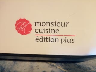 robot de cocina monsieur cosine plus edition