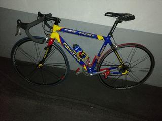 Bicicleta carretera F.C.BARCELONA