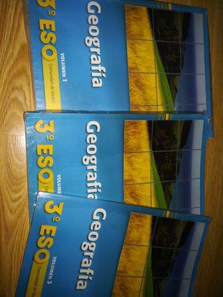 libro geografía 3 eso