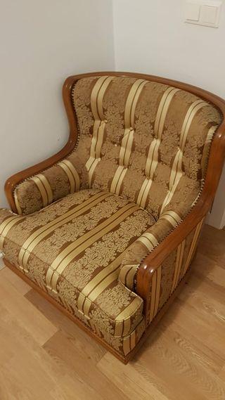 sofá y sillones clásicos estado perfecto. vintage