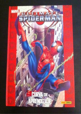 LIBRO ULTIMATE SPIDERMAN