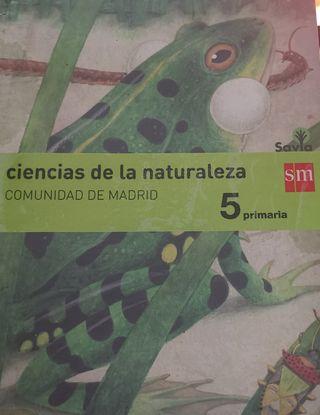 libro ciencia de la naturaleza 5primaria