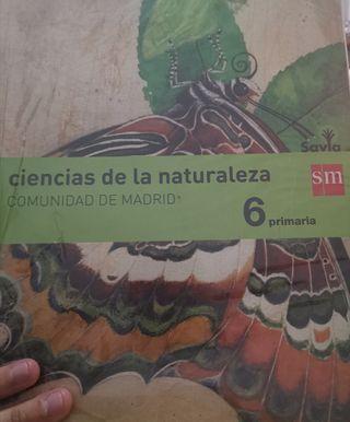 libro de ciencia de la naturaleza 6to de primaria