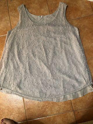 Blusa crema T XL