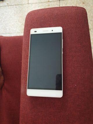 Huawei P8 lite en blanco