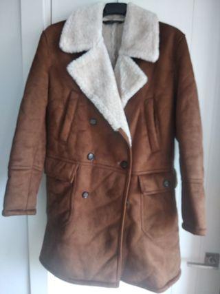 abrigo trenca zara
