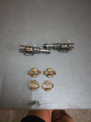 Pedales automáticos btt crank bros