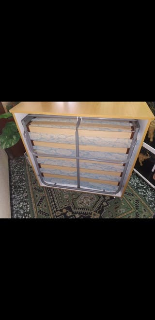 cama mueble plegable 80 cm