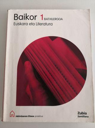 LIBRO EUSKERA BACHILLERATO