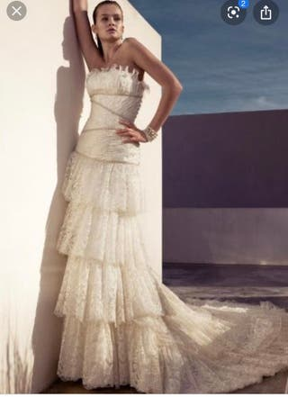 Vestido novia Pepe Botella