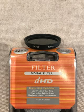 Filtro Infrarrojos IR720 43mm. dHD