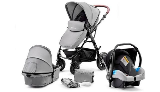 Kindercraft Three in one MOOV Stroller