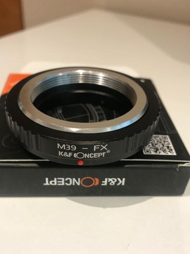 Adaptador Objetivo Leica M39 a Fujifilm