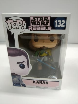 Funko POP Kanan - 132 Star Wars Rebels.