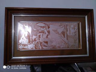 """Cuadro reproducción del """"Guernica"""" (Picasso)"""