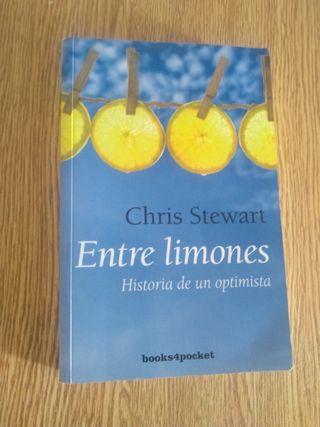"Libro ""Entre limones-Historia de un optimista"""