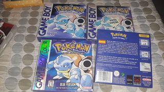 Pokémon blue ( varias versiones )