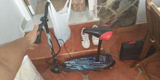 patinete eléctrico sillín ride trike