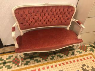 Sofá vintage recibidor