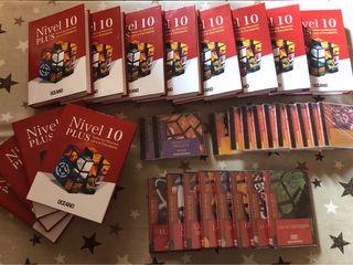 Libros de ayuda al estudio Nivel10 Plus