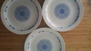 Lote 3 Platos Vintage Pontesa