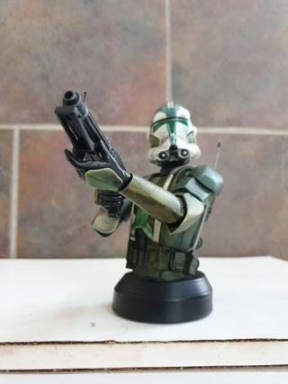 commander gree busto de gentle giant star wars