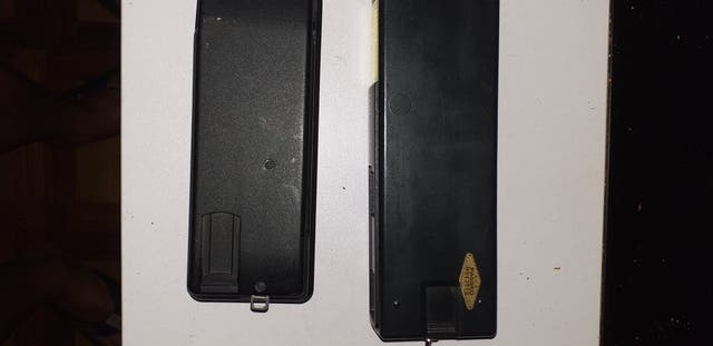 2 cámaras de fotos antiguas