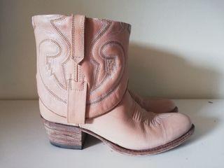 Botines cowboy Sendra