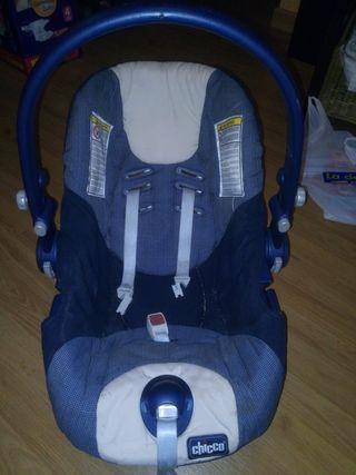 Silla de bebe coche Chicco Artesana grupo 0 y 1