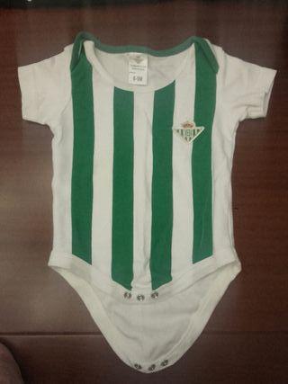 Bodys bebé Real Betis oficial