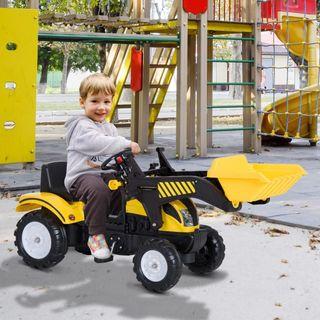 Tractores para Niños 3-6 Años Coche Pedales Carga