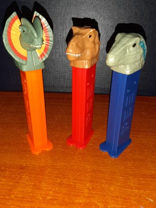 3 Dispensadores Pez (Jurassic Wold)
