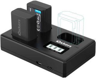 Batería y Cargador de Sony con Cargador Triple
