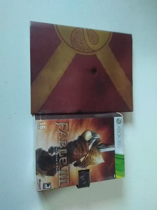 Pack Fable III collector xbox360
