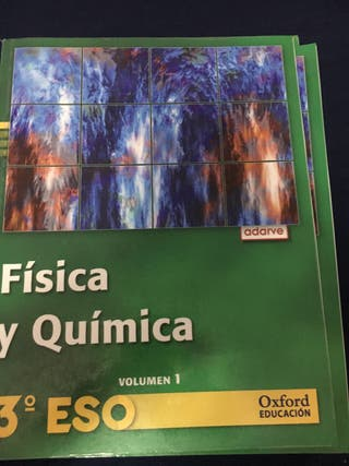 Libro texto 3 ESO física y quimica
