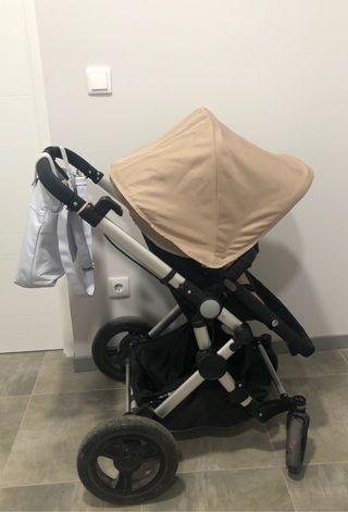 Capazo + silla baby ace 042