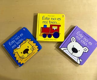 "Libro infantil ""Este no es..."" Osburne"