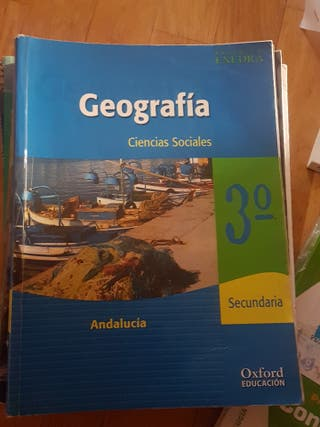 Libro Geógrafia 3° Eso