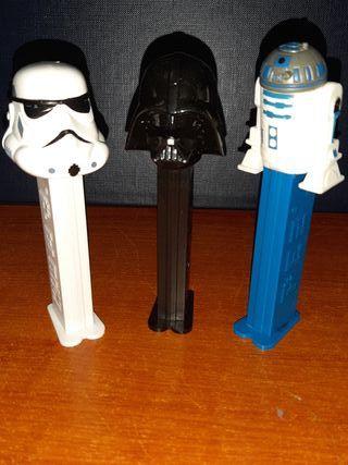 3 Dispensadores Pez (Star Wars)