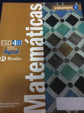 Libro texto 4 ESO Matemáticas